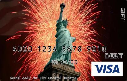 Statue of Liberty Visa Gift Card