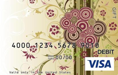 Arts Wrap Visa Gift Card