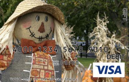 Scarecrow Visa Gift Card