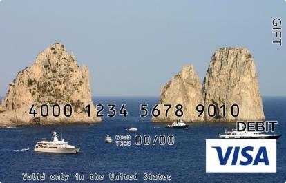 Scenic Visa Gift Card