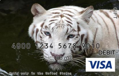 White Tiger Visa Gift Card