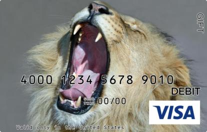 Lion Visa Gift Card