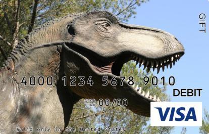 Dinosaur Visa Gift Card