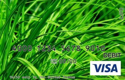 Grass Visa Gift Card