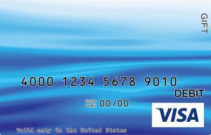 Blue Waves Visa Gift Card
