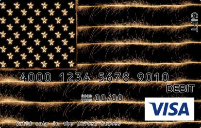American Sparkle Visa Gift Card