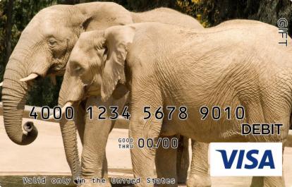 Elephant Visa Gift Card