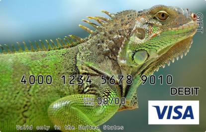 Lizard Visa Gift Card