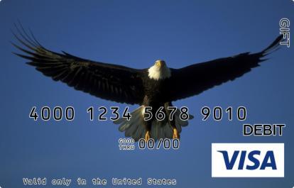 Eagle Visa Gift Card