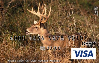 Deer Visa Gift Card