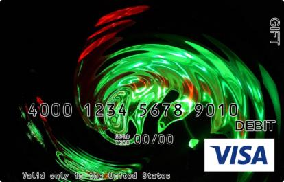Green Wave Visa Gift Card