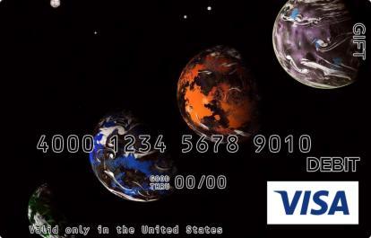 Planetarium Visa Gift Card