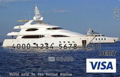 Boat Visa Gift Card