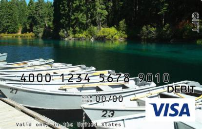 Rowboats Visa Gift Card