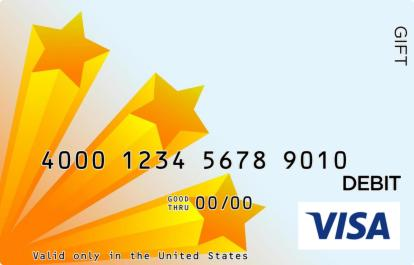 Star Visa Gift Card