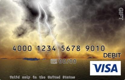 Lightning Visa Gift Card