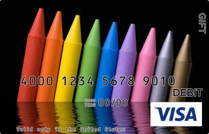 Crayons Visa Gift Card