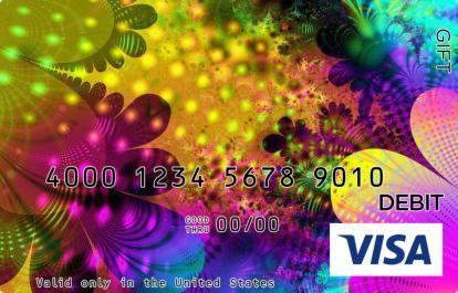 Foil Visa Gift Card
