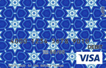 Snow Stars Visa Gift Card