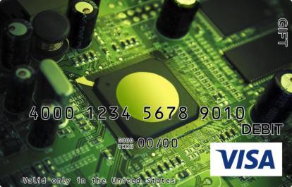 Microchip Visa Gift Card