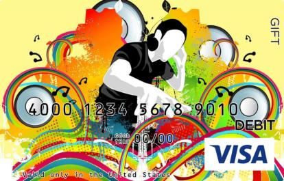 DJ Visa Gift Card