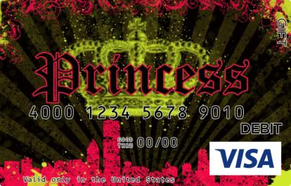 Princess Visa Gift Card