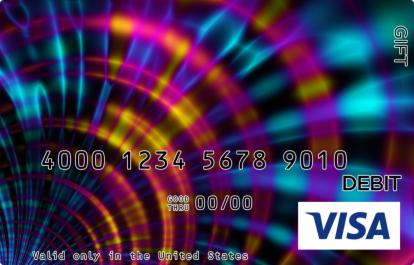 Psychedelic Visa Gift Card