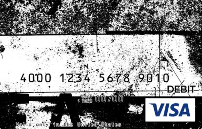 Edgy Street Visa Gift Card