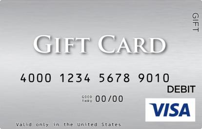 Silver Visa Gift Card  GiftCardMall.com