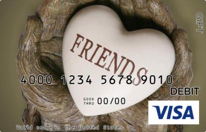 Friends Visa Gift Card