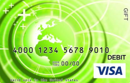 Green Globe Visa Gift Card