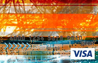Digital Signboard Visa Gift Card