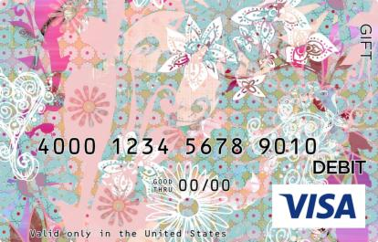 Flower Mosaic Visa Gift Card