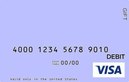 Violet Visa Gift Card
