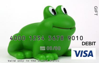 Frog Visa Gift Card
