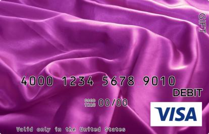 Purple Velvet Visa Gift Card