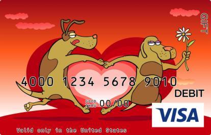 Puppy Love Visa Gift Card