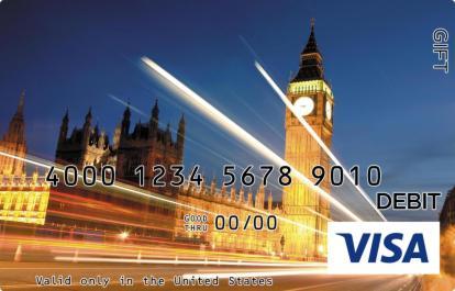 London Visa Gift Card