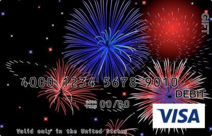 Fireworks Visa Gift Card
