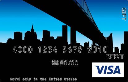 New York Bridge Visa Gift Card