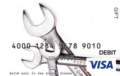Wrench Visa Gift Card