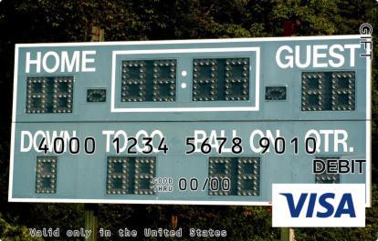 Scoreboard Visa Gift Card