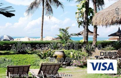 Beach Resort Visa Gift Card