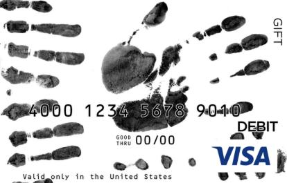 Handprints Visa Gift Card
