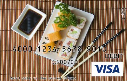 Sushi Visa Gift Card