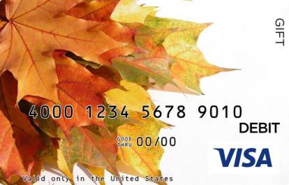 Autumn Visa Gift Card