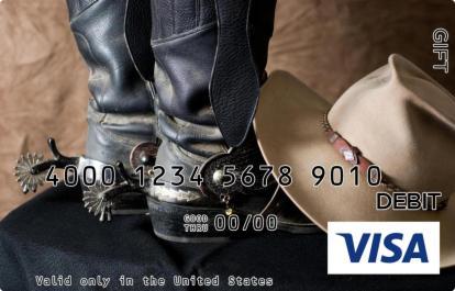 Cowboy Visa Gift Card