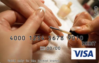 Manicure Visa Gift Card