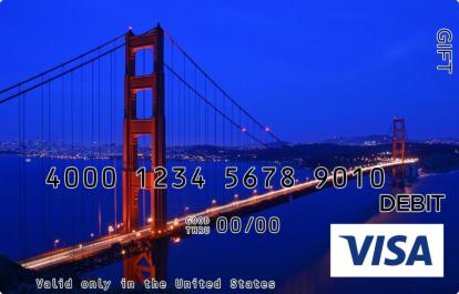 San Francisco Visa Gift Card