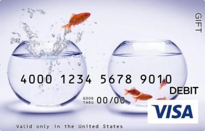Goldfish Visa Gift Card